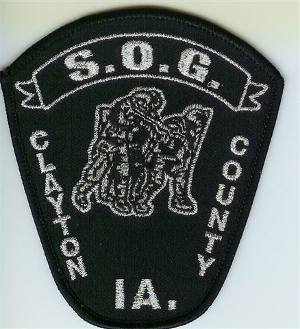 Drug Task Force Patch